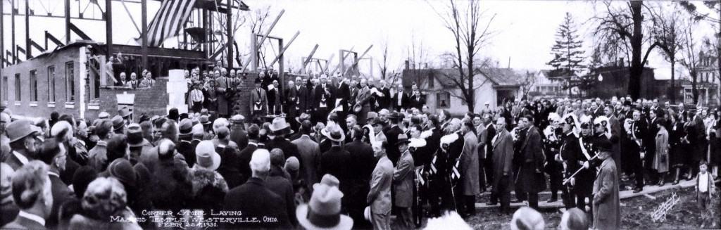 Corner Stone Laid: Westerville, Ohio 1930