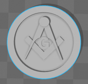 Generic coin with G